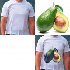 нанести принт на футболку
