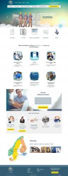 Корпоративный сайт компании Lumico