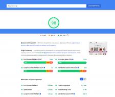 Pgaspeed (~98%) интернет-магазин на опенкарт 3