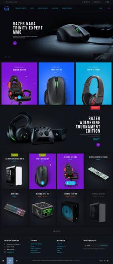 Geek - online store