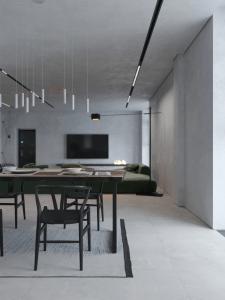 Дизайн квартиры. Кухня-студия