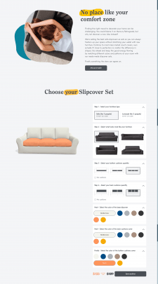 Home Accessories Startup - Shopify + React app
