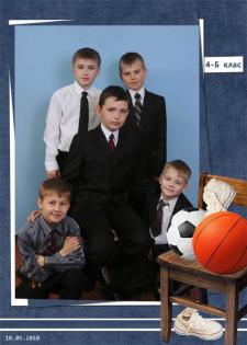 Оформление школьного фотоальбома