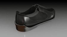 Обувь, визуализация модели.