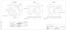 Тепловая сеть-тепловая камера 1 (план, разрезы)