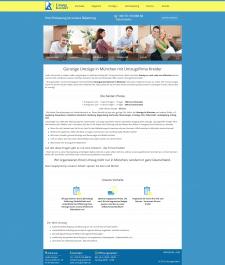 Сайт визитка немецкой компании по услугам переезда