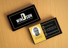 Визитка для компании winDsun