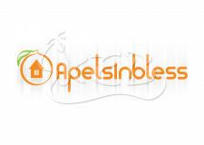 Логотип для интернет магазина Apelsinbless