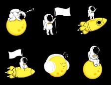 Иллюстрации для music app
