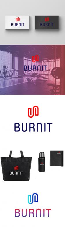 Вариант логотипа для Burnit абстрактный