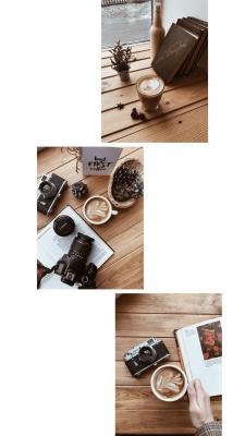 Контент для Instagram профиля кофейни