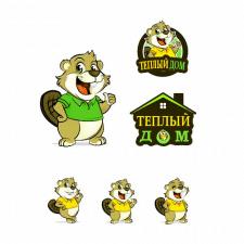 """Логотип """"Теплый дом"""""""