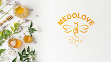 логотип для компании меда