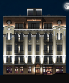 Визуализация фасадного освещения в Photoshop
