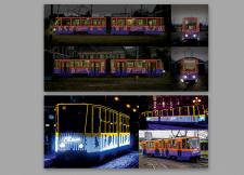 Брендирование трамвая