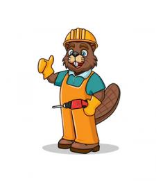 Бобер-строитель