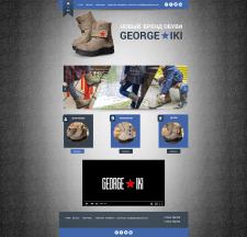 Сайт по продаже обуви George