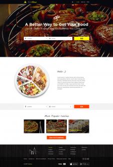 Выбор ресторана и заказ еды онлайн