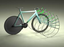 велопарковка с велом