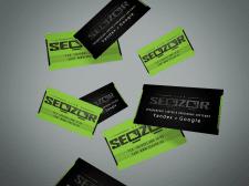 Визитка Seozor