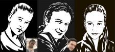 портреты стилизация