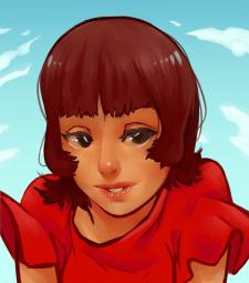 Портрет в аниме стиле