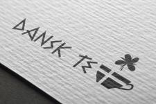 """Логотип """"DANSK TEA"""""""