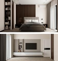 дизайн интерьера гостевой спальни