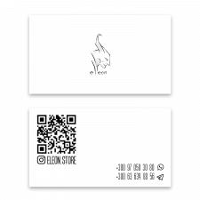 визитка+разработка логотипа