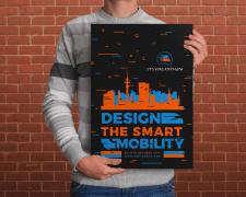 Плакат ITS Hackathon