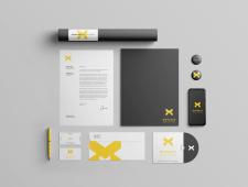 Фирменный стиль - логотип лаборатории MONARCH