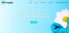 TG Laundry - Сайт визитка прачечной в США