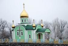 Часовня на кладбище в с. Клембовка