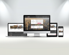Корпоративный сайт по аренде недвижимости