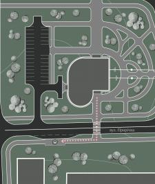 Генеральный план станции канатного транспорта