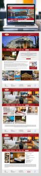 Сайт для отеля VISAK