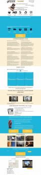 Landing page для Ipteam WordPress PHP