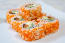 пример съемки предметного фото для ресторана Суши
