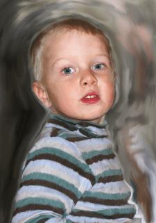 Обработка фото под живопись маслом