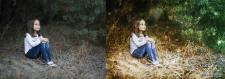 Дівчинка в лісі