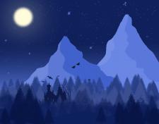 2D пейзаж