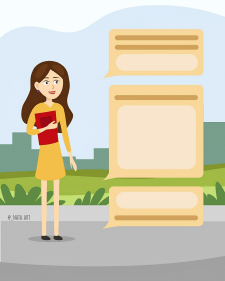 Иллюстрация для бизнес роликов