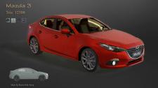 3d auto Mazda3
