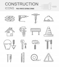 Иконки для сайта строительного магазина