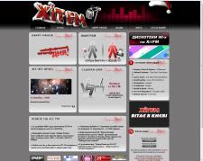 Corporate site of the Ukrainian radio station HitFM