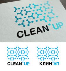 clean up logo design