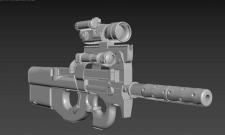 Оружие в 3DsMAX