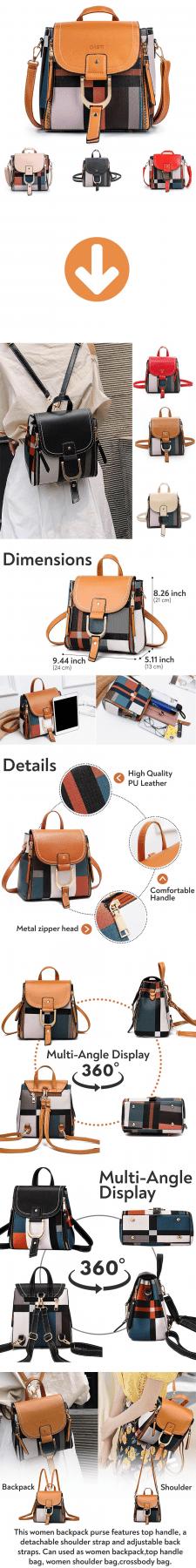 Листинг Amazon - Сумки/рюкзаки Dasti