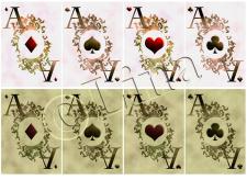 Дизайн карточных тузов