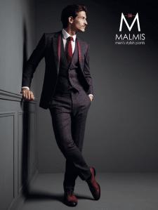 Логотип для компании по изготовлению мужских брюк